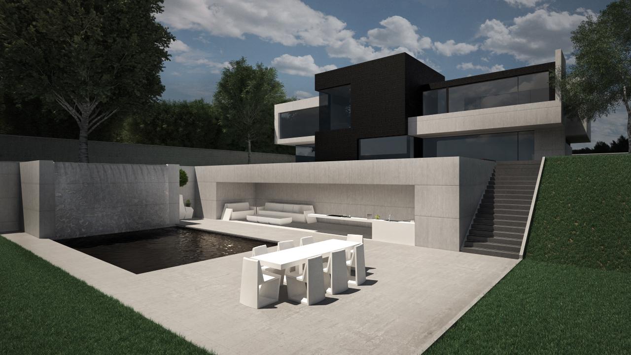 Dise o de vivienda unifamiliar en las rozas de madrid - Programa diseno vivienda ...