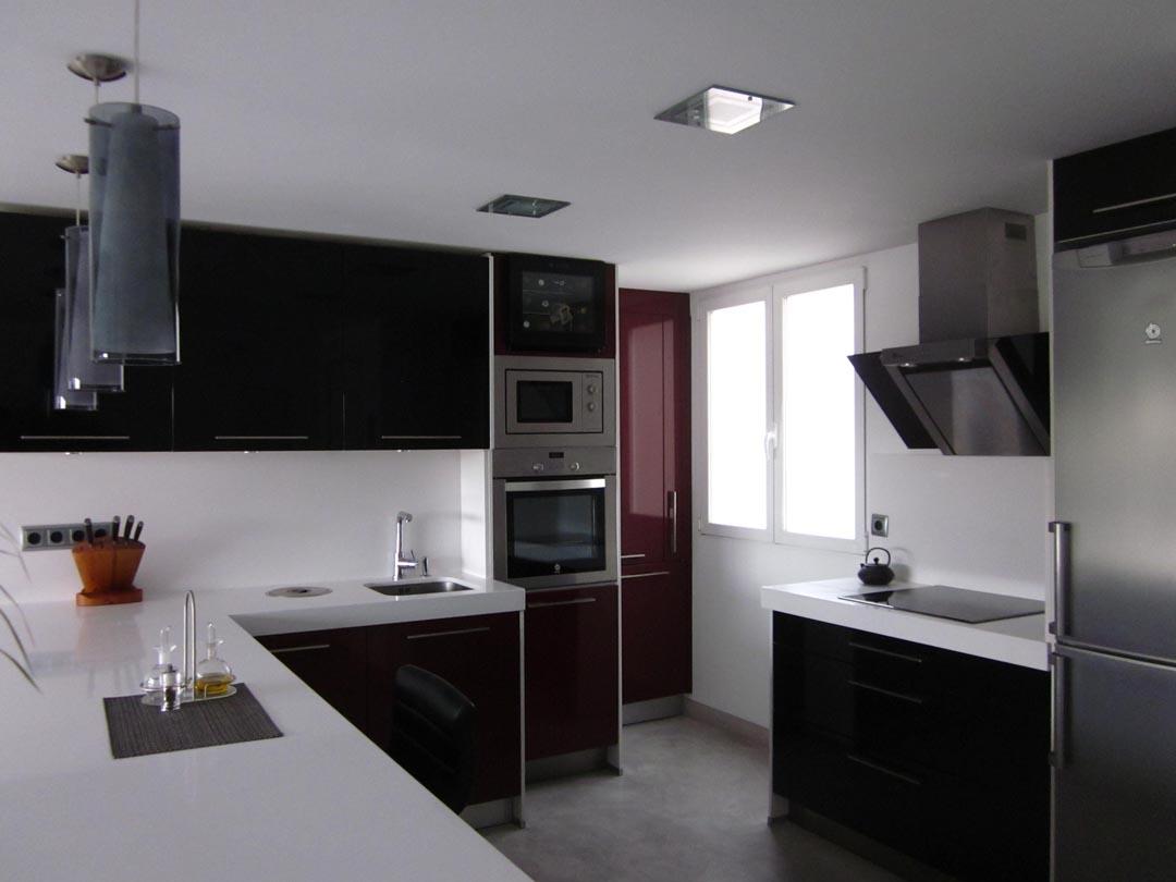 Dise o y reforma de piso en madrid grupo ias for Diseno pisos