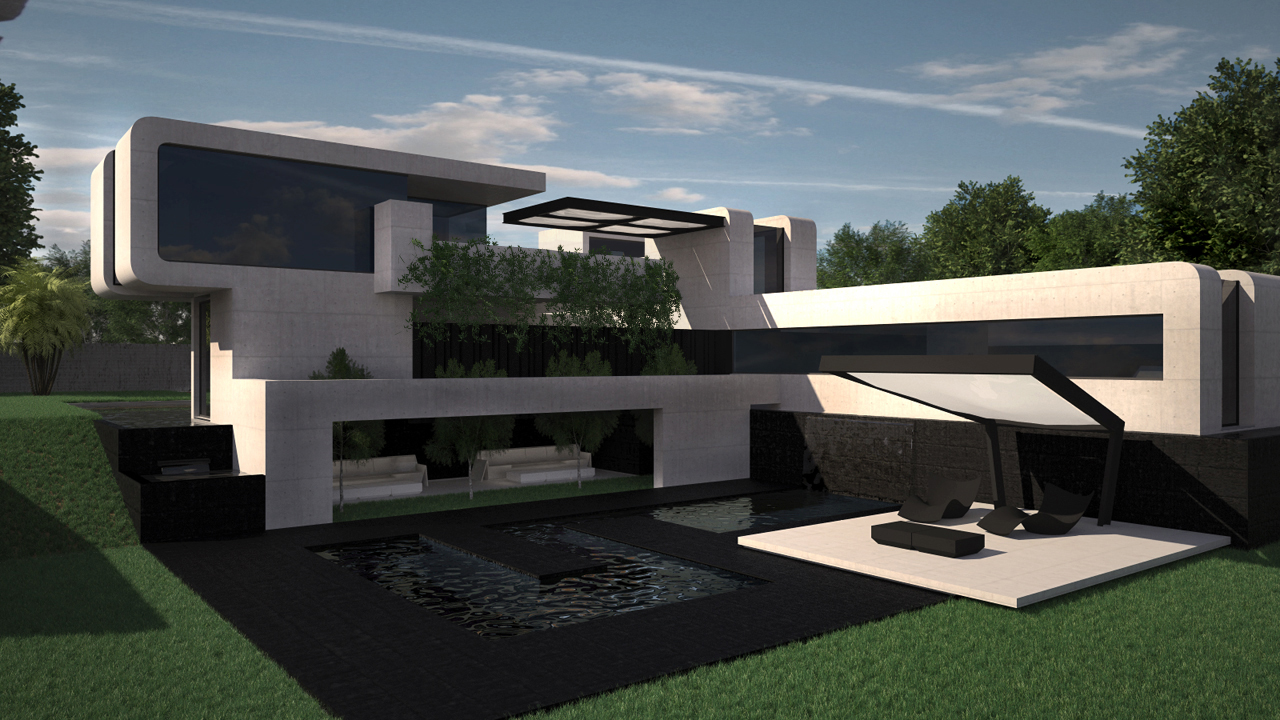 Dise o de vivienda unifamiliar con patio grupo ias - Diseno de viviendas ...