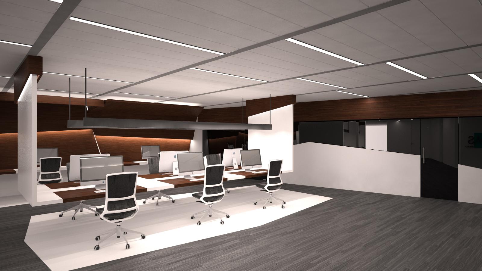 Dise o de oficinas en madrid grupoias for Oficinas envialia madrid
