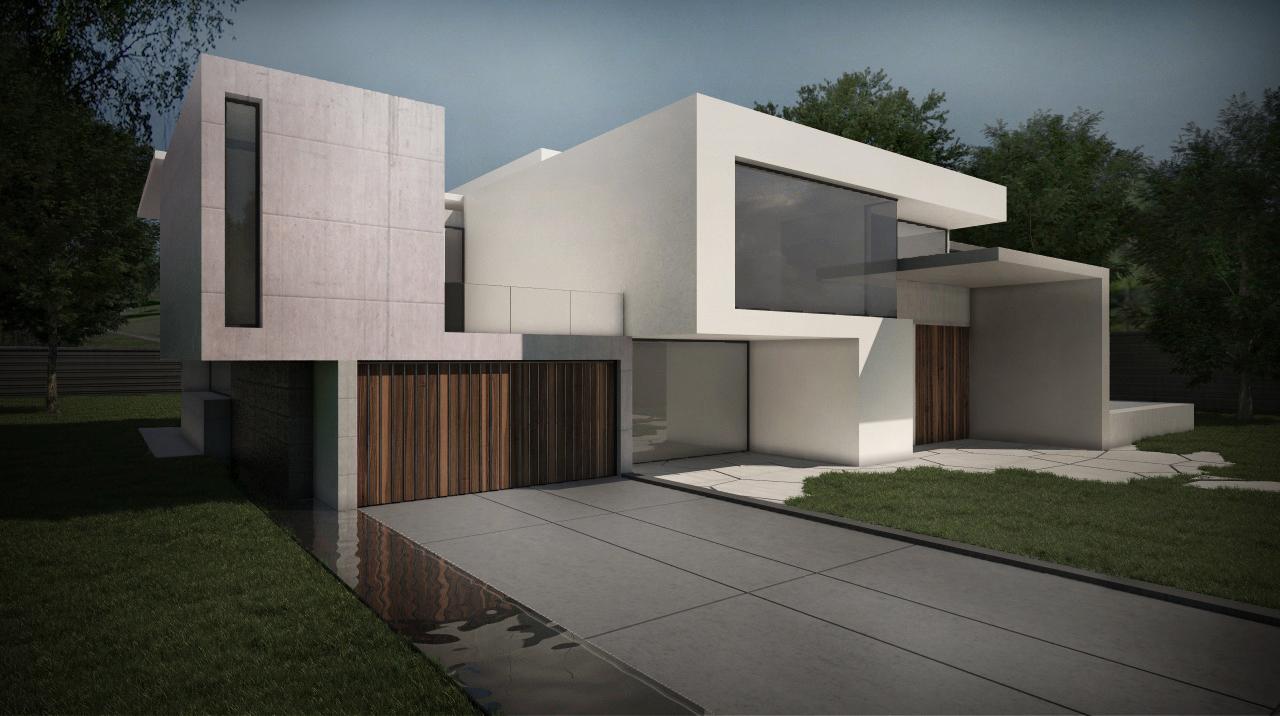Propuesta de vivienda en pozuelo de alarcon grupo ias for Casas modernas hormigon visto