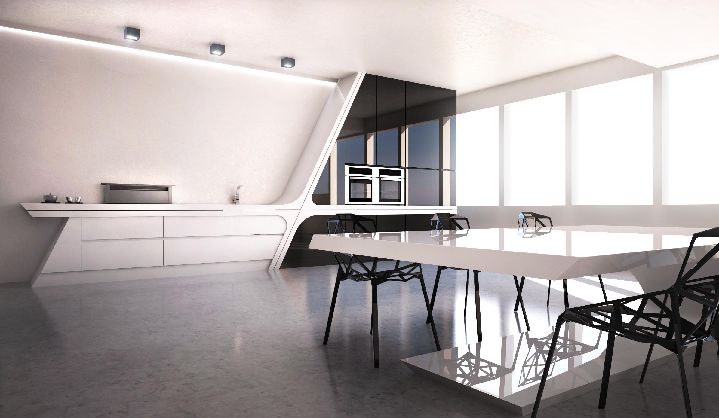 vivienda diseño pozuelo de alarcon 1