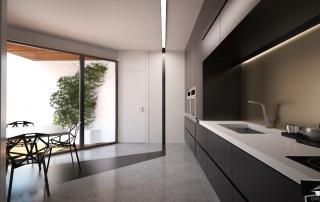 Diseño cocina minimalista GrupoIAS