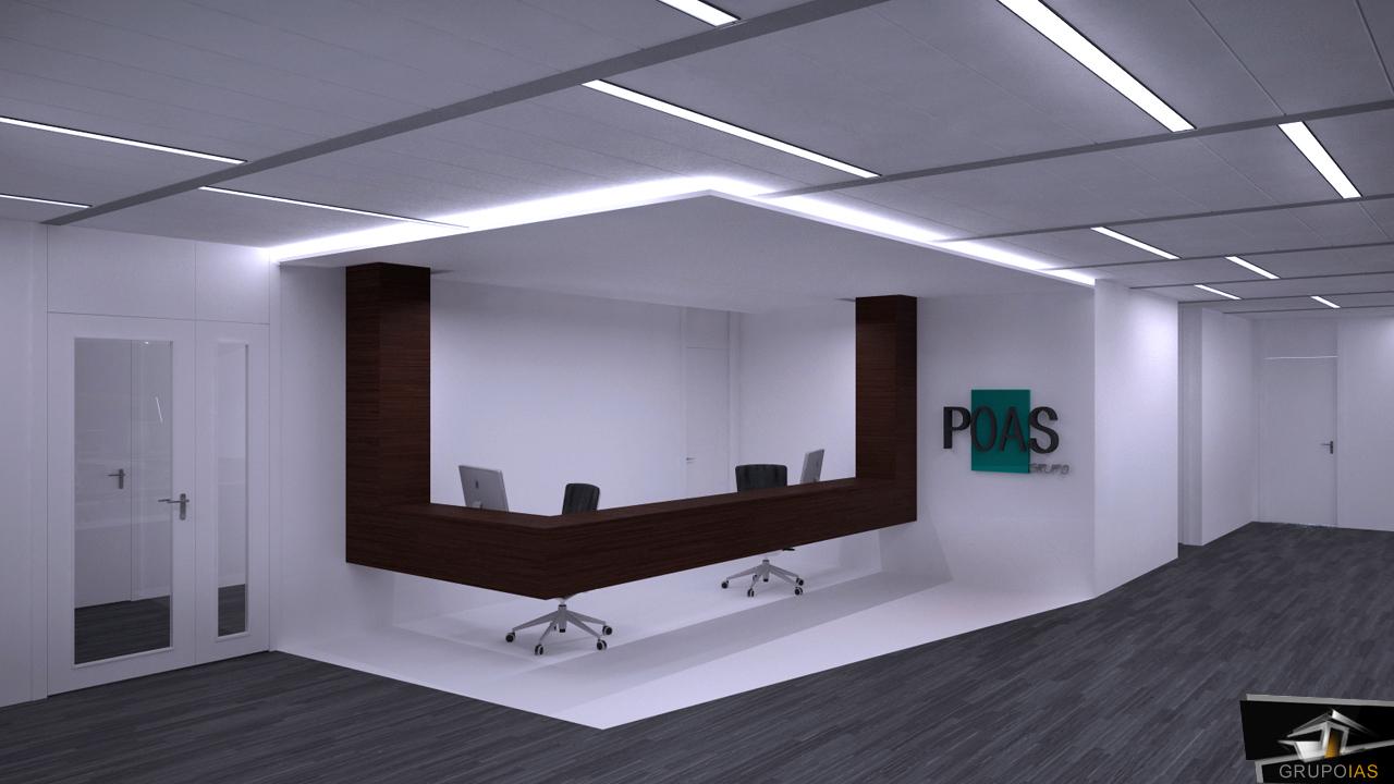 Recepciones modernas para oficinas recepciones para for Disenos para oficinas modernas
