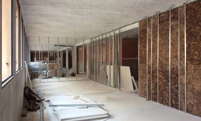Instalación perfilera pladur grupoias