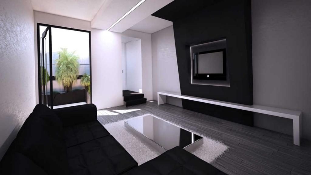 Dise o de espacios locales interiores oficinas en - Diseno de interiores en madrid ...